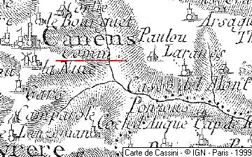 Maison du Temple de Canens