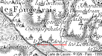 Domaine du Temple de Pont d'Oust