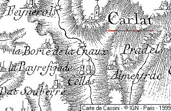 Maison du Temple de Carlat