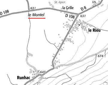 Le Montel, annex de l'Hôpital Champfranchisse
