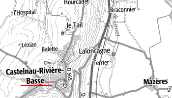 Domaine du Temple de Castelnau-Rivière-Basse