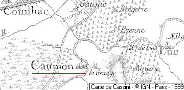 Moulins du temple de Caumont