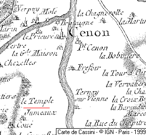 Le Temple de Cenon
