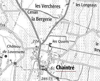 Domaine du Temple ou de l'Hôpital à Chaintré