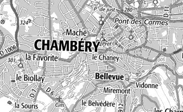 Maison du Temple de Chambéry