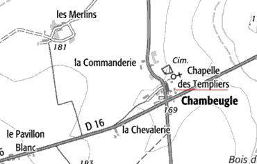 Maison du Temple de Chambeugle