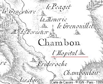 Maison du Temple de Chambon
