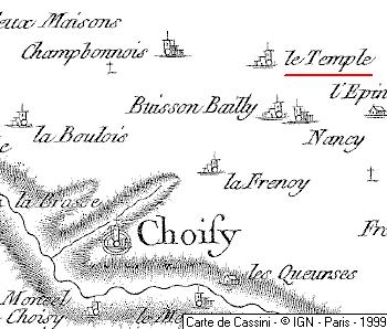 Maison du Temple de Champbonnois
