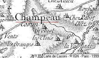 Maison du Temple de Champeau