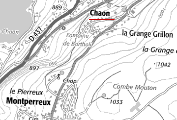 Grange du Temple de Chaon