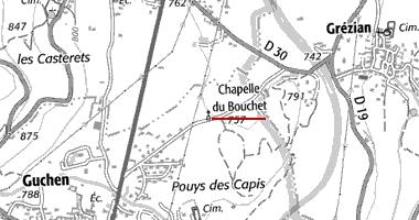 La chapelle du Bouchet