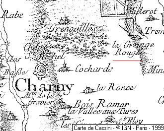 La Grange Rouge, membre du Temple de Charny
