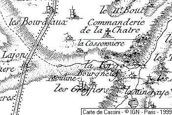 Maison du Temple de La Chastre-aux-Grolles