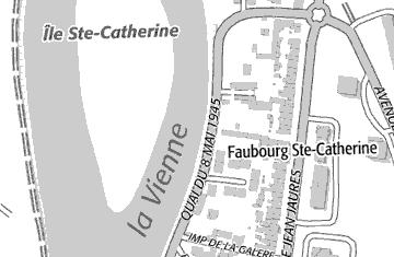 Localisation possible d'une ancien hôtel des Templiers