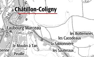 Maison du Temple de Châtillon-Coligny