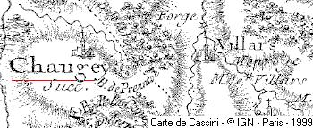 Seigneurie du Temple de Chaugey