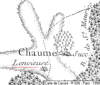Métairie du Temple de Courchamp