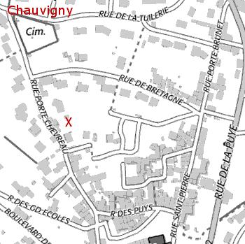 Rue des Puys Chauvigny