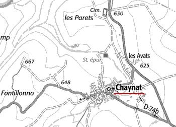 Maison du Temple de Chaynat