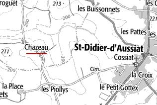Domaine du Temple à Chazeau