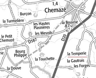 La Templerie de Chemazé