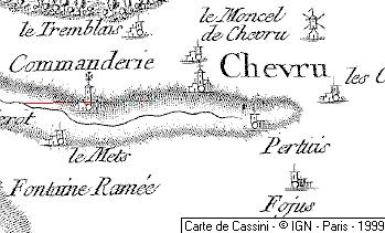 Maison du Temple de Chevru