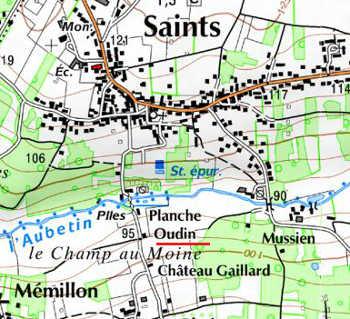Moulin du Temple de Planche-Oudin