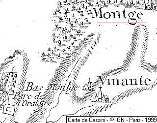 Domaine du  Temple autour de Montgé-en-Goël
