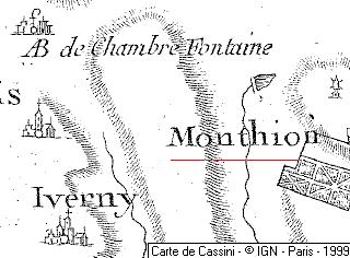 Domaine du  Temple autour de Monthyon