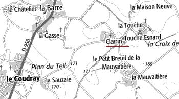 Maison du Temple de Clairin