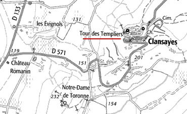 Maison du Temple de Clansayes