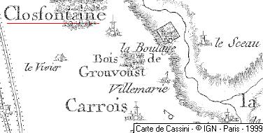Domaine du Temple de Clos-Fontaine