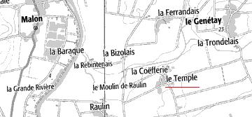 Domaine du Temple à La Coëffrie