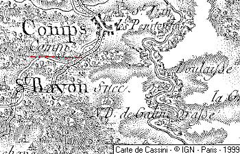 Maison du Temple de Comps-sur-Artuby