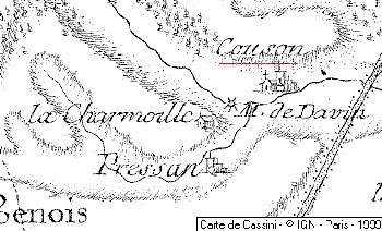 Domaines du Temple de Couzon-sur-Coulange