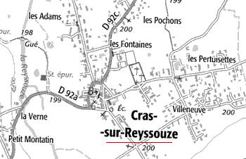 Domiane du Temple de Cras-sur-Reyssouze