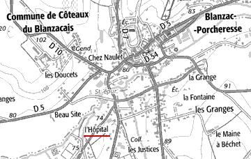 L'Hôpital de Blanzac