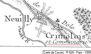 Maison du Temple de Crimolois