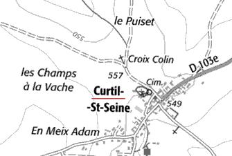 Bien du Temple à Curtil