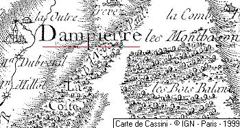 Domaine du Temple de Dampierre-lez-Montbozon