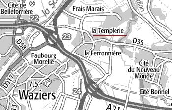 Douai, La Templerie