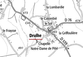 Maison du Temple de Drulhe