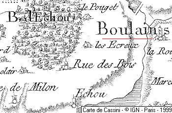 Domaine de Boulains et la forêt d'Echou