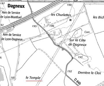 Maison du Temple d'Ecorcheloup