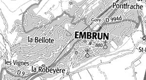 Maison du Temple d'Embrun