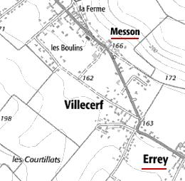 Domaine du Temple de Errey et Messon