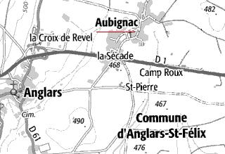 Bien du Temple à Aubignac