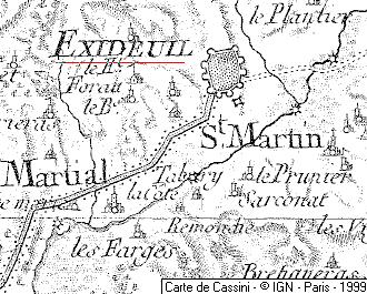 Chapelle Templière d'Excideuil