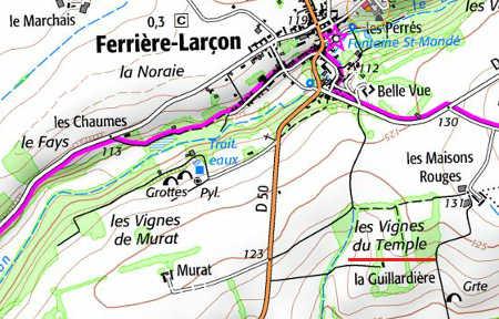 Domaine du Temple de Ferrières-Laçon