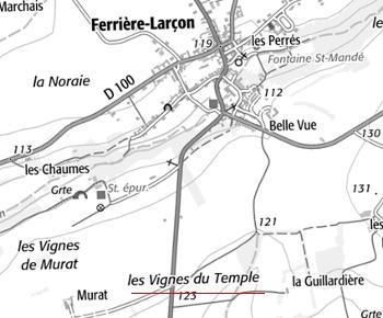Domaine du Temple de Ferrières-Larçon
